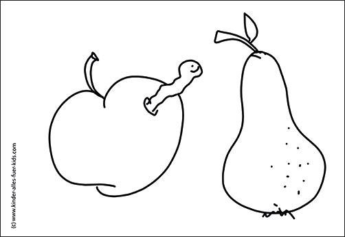 Ausmalbilder Herbst Kürbis: Herbstbasteln Mit Kindern
