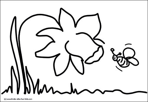 Einfache Ausmalbilder Ostern Fruhling Zeichnungen Und