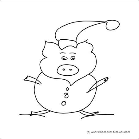Einfache Malvorlagen Fur Weihnachten Ausmalbilder Nikolaus